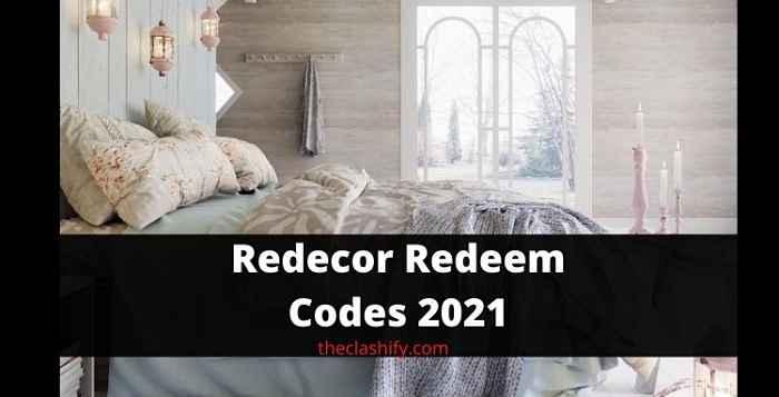 Redecor Redeem Codes 2021