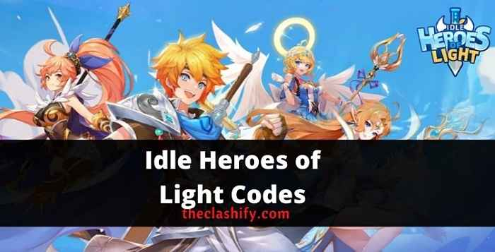 Idle Heroes of Light Codes 2021 September