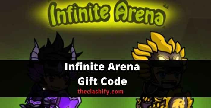 Infinite Arena Bonus Code
