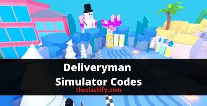 Roblox Deliveryman Simulator Codes 2021 September