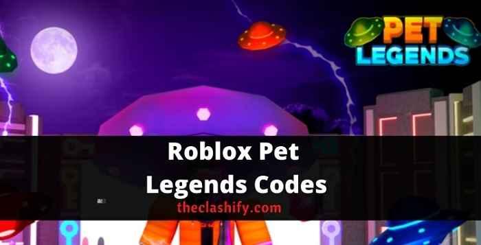 New valid Roblox Pet Legends Codes 2021