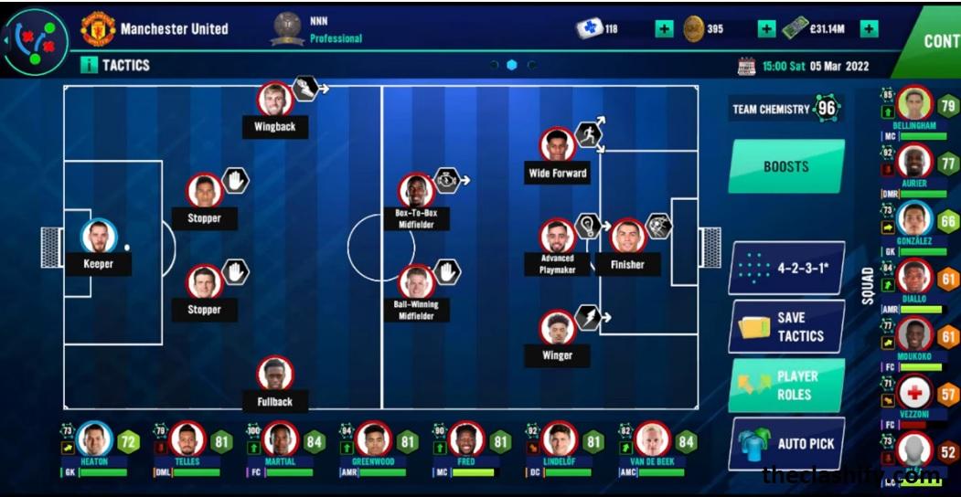 Soccer Manager 2022 Best Tactics