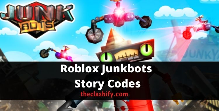 Junkbots Story Codes