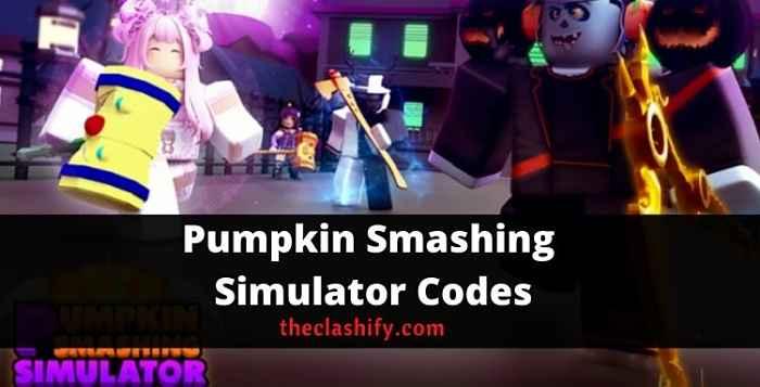 Pumpkin Smashing Simulator Codes 2021 October