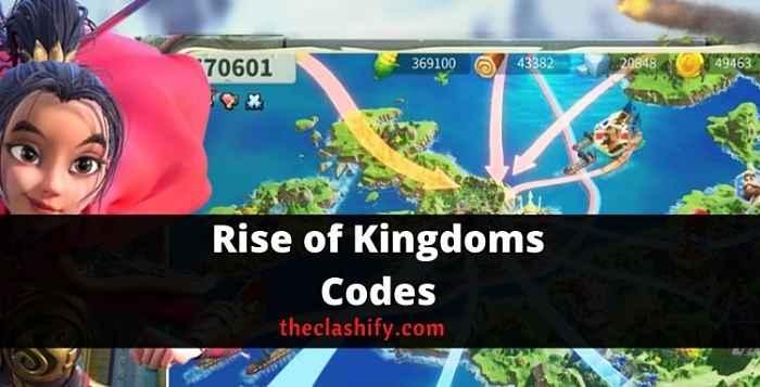 ROK Redeem Codes 2021 October ( Today List )