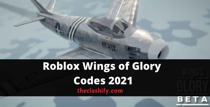 Roblox Wings of Glory Codes 2021 October