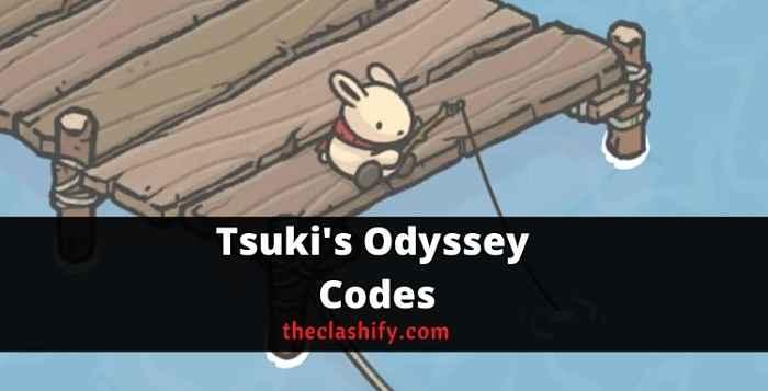 Tsuki's Odyssey Codes 2021 October ( Latest )